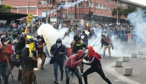 Ecuador: Tras la represión, hay al menos 5 muertos en las protestas contra las medidas de Moreno y el FMI - Canal 7 Salta