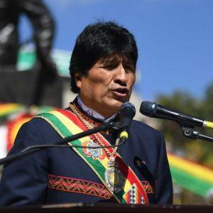 LA PAZ:Evo Morales junto a Autoridades nacionales y la población en general participan de los actos cívicos en conmemoración al Día del Mar