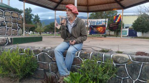 """""""La Verdadera Pandemia es la Pobreza""""dijo el doctor Arriaga, quien se presentó en Campo Quijano postulando sobre la situación actual"""