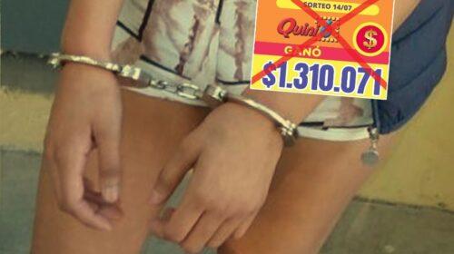 Argentina – Detuvieron a la tombolera que le robó el premio millonario del Quini a salteño