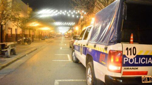 Salta – La Policía continúa realizando operativos de seguridad sanitaria