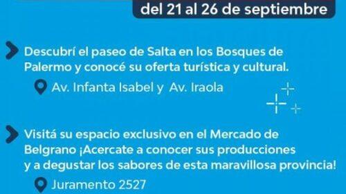 Salta expondrá su potencial en Buenos Aires
