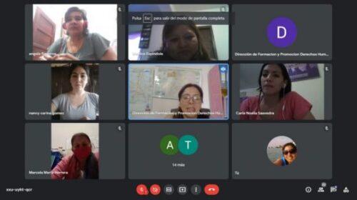 Salta – Violencia de género: Fortalecen a equipos municipales con capacitaciones